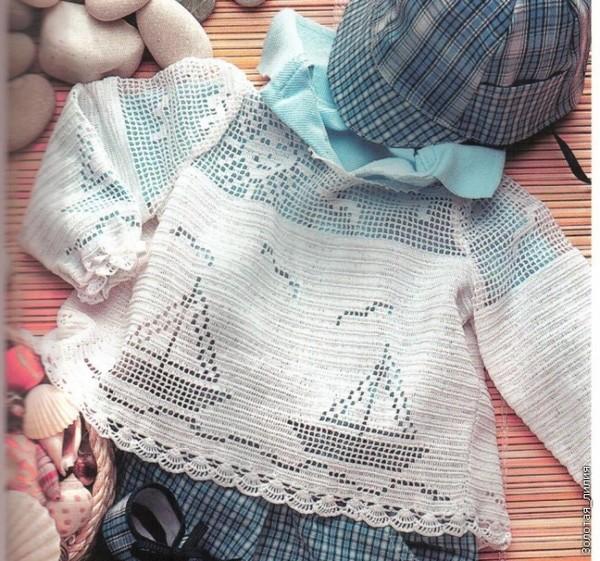 Филейное вязание детям. Схемы