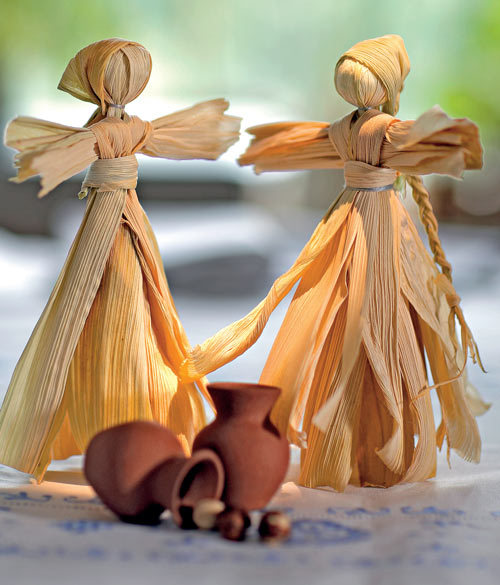 Кукла из природного материала своими руками 60