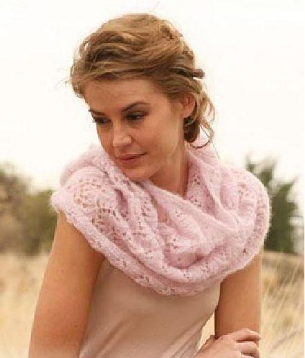 Как вязать шарф снуд?
