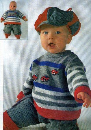 свитер для мальчика 4-6