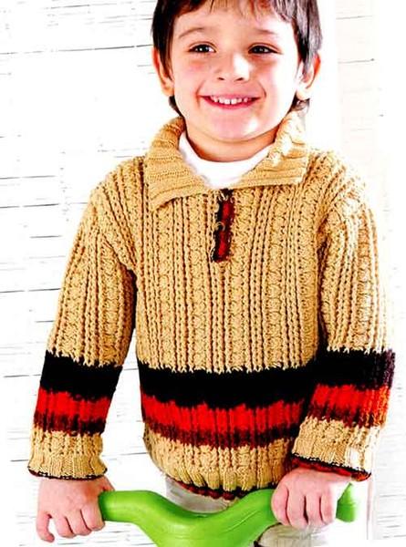 мальчика 2 – 3 лет спицами