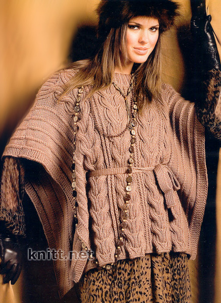 Араны, косы, жгуты. вязание