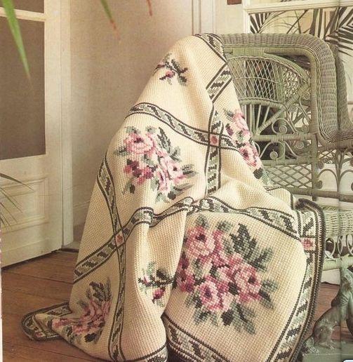 Красавцы пледы - тунисское