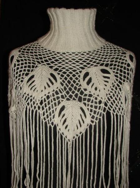 Воротник-шарф в смешанной