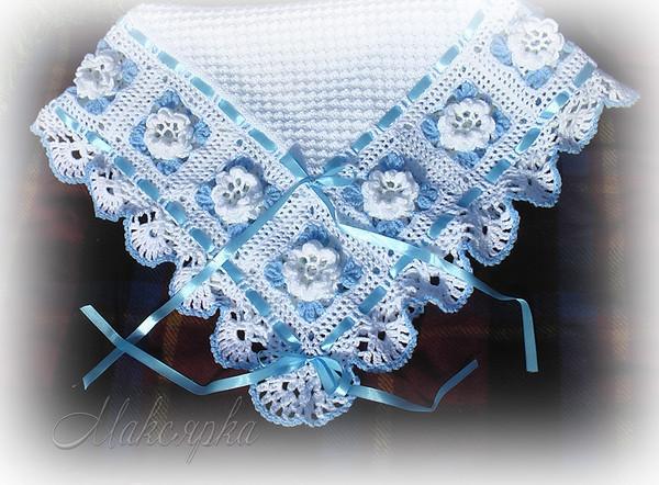 Машинное вязание + квадраты.