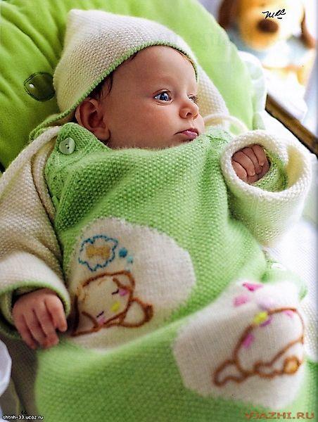 Конверт для новорожденного с
