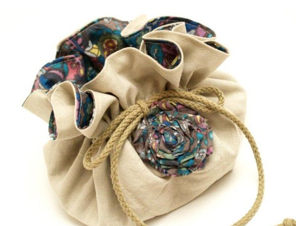 Как сшить сумку-мешочек для