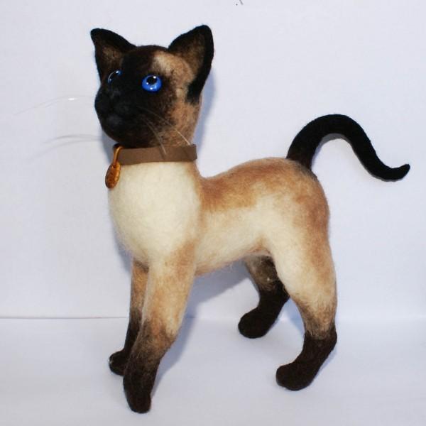 Мастер класс кошка на бутылке