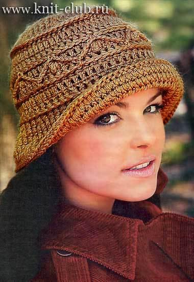 Очаровательная шляпка для