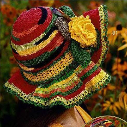 Шали шарфы шапочки крючком подборка
