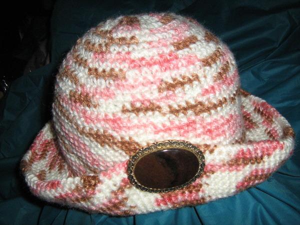 Как связать шляпку крючком для кукол