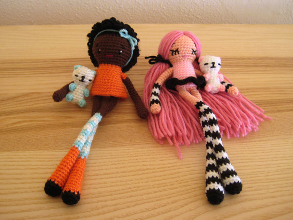вязание крючком игрушки