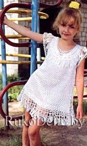 летние юбки спицами