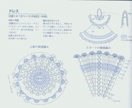 Смотрим общую схему вязания.