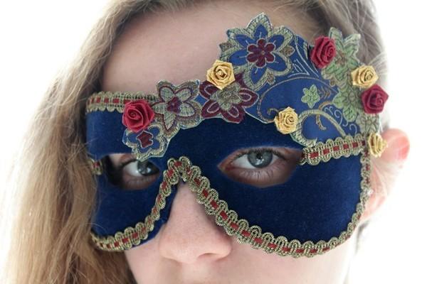 Как сделать маску для стрекозы