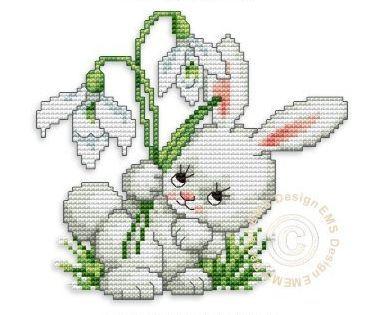 Кролик - символ года (схемы