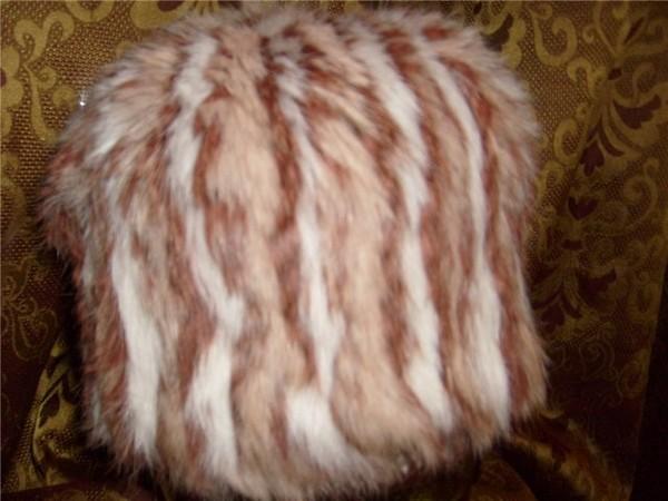 Изделия из вязаного меха.