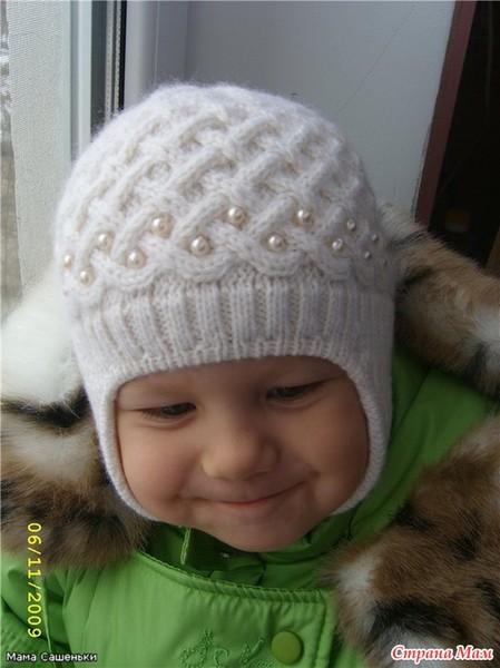 Нашла на просторах интернета вот такую шапочку, очень она мне понравилась.  МК от автора этой шапочки.