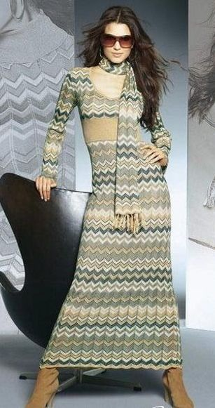 Узоры миссони очень очень популярны и одежда, связанная этими Схема вязания узора миссони Схемы вязания норвежских...