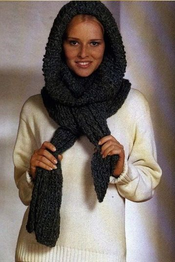 Чудо-шарф. Описание вязания