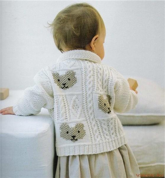 Подборка жакетов для девочек, связанных спицами, на разный возраст.  Схемы и описания есть.  Помотреть можно.