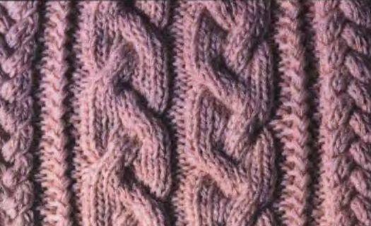 араны Вязание спицами, крючком, уроки вязания.