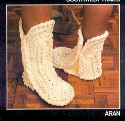 Комментарий: вязание крючком схемы тапочки носки.