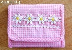 Ключницы из ткани своими руками фото 839