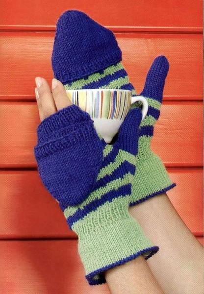 Мой муж заказал мне варежки-митенки-перчатки.  Я покопала и нашла несколько...