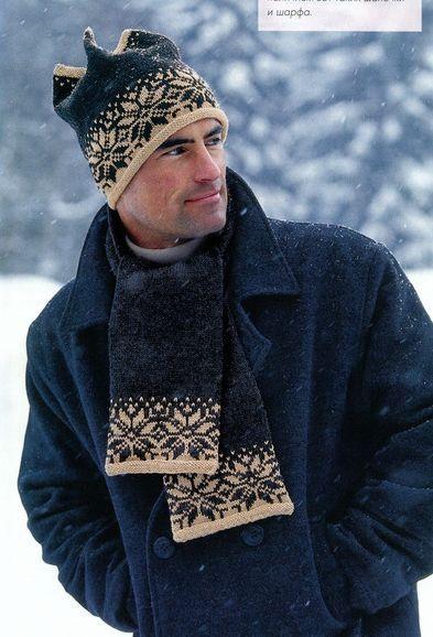 Вязание шапок, шарфов и беретов на.