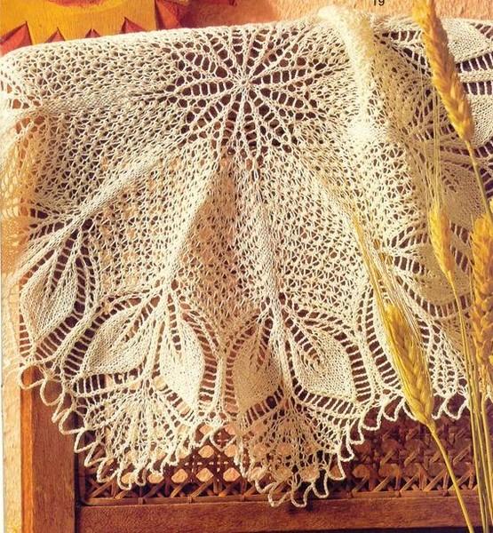 Узоры для вязания спицами на осинке