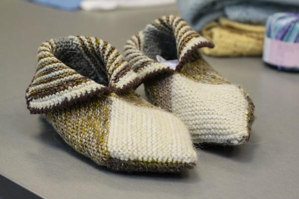 Вяжем норвежские носки.