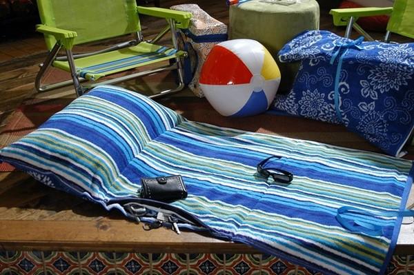 Коврик пляжные своими руками