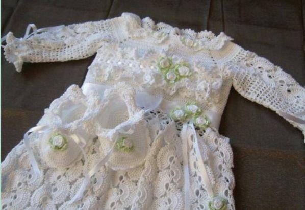 Крестильное платье. Схемы