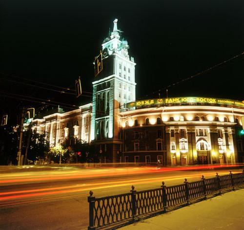 Освещение Воронежа к юбилею.