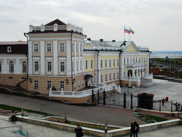 Администрация Президента.(Представительский Северный корпус Пушечного двора)