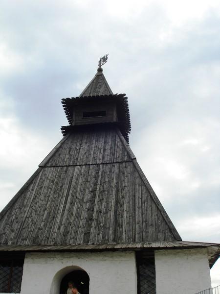 Преображенская башня.Фрагмент