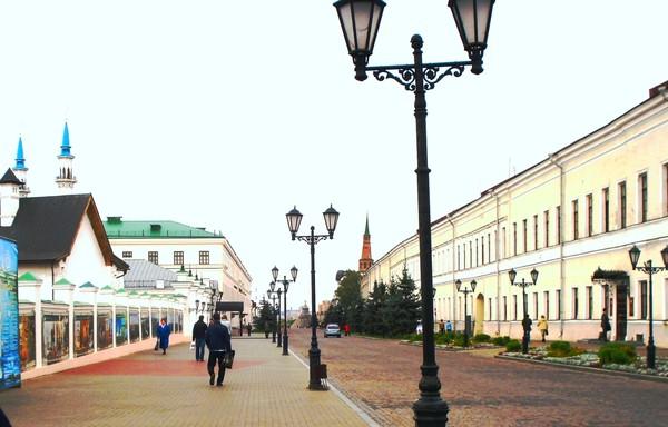 Центральная улица.Здание присутственных мест