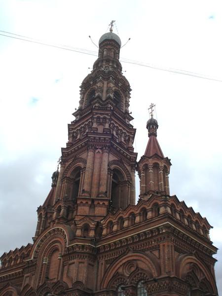 Казань.Фрагмент колокольни