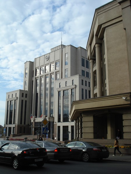 Казань.Административное здание