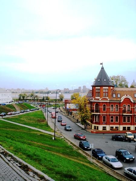 Казань.Вид с Кремля