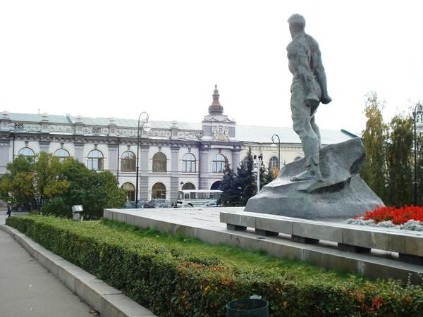 Казань.Памятник Мусе Джалилю