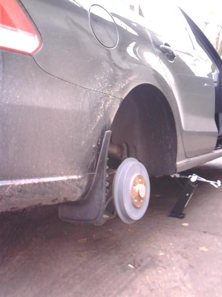 Брызговики для VW Polo sedan.ДО РЕСТАЙЛ. Выбор и сравнение.
