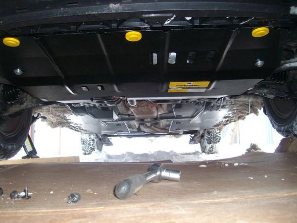 Защита двигателя для VW Polo седан