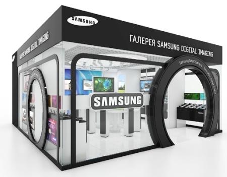 Samsung  ставит свои точки продажи в сети  салонов   Евросеть