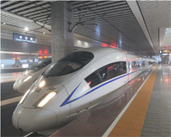 Line speediest train is started In China