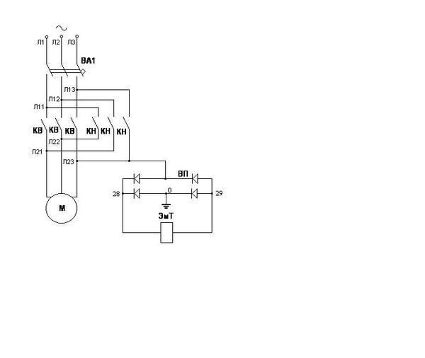 Схема принципиальная подъёмник автомобильный для шиномонтажа, 2,5 т. NORDBERG 633S-2,5T.