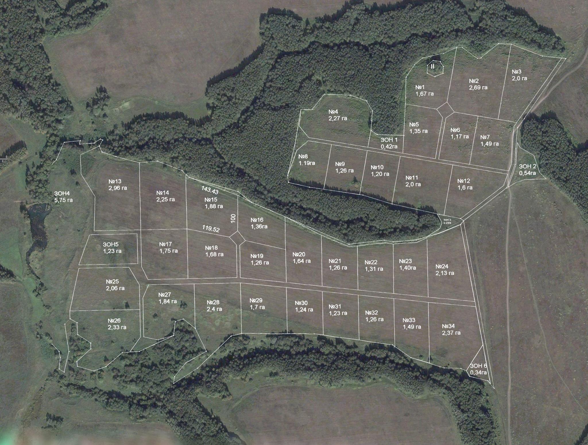 Карта Велесово