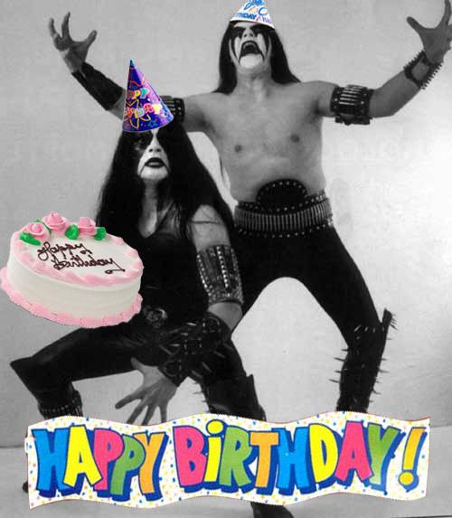 Поздравления с днем рождения рокеру