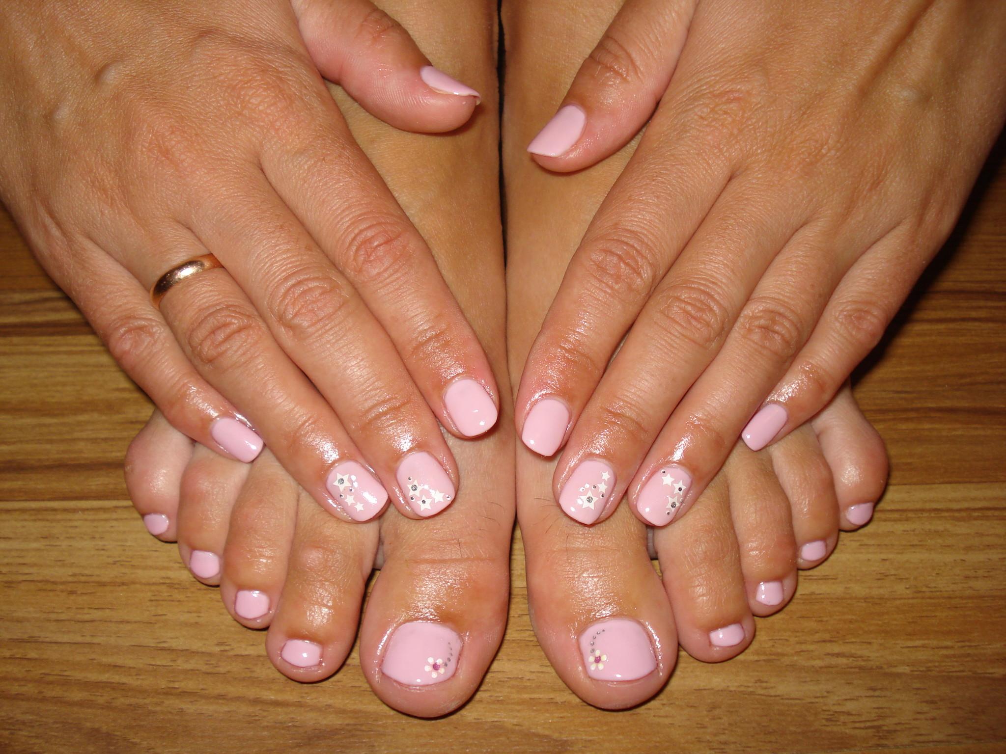 Шеллак на короткие ногти на ногах фото